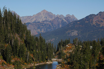 North Cascades Ecoregion scene